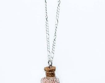 Magical Bottle Pendant Necklace
