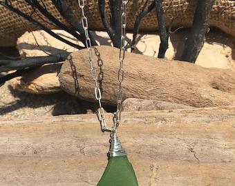 Sea Glass Necklace #28