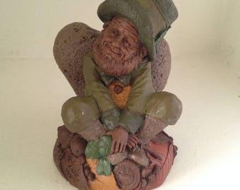 """Tom Clark """"Dublin"""" Sculpture 1990 Cairn Studio Hand Signed - Retired"""