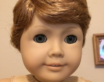 Kemper Tyler Light Auburn/Strawberry Blond - Boy doll wig size 10-11