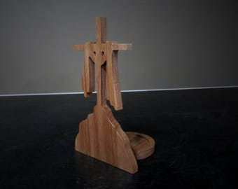 Cross Candle Holder - 6""