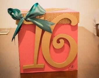 Birthday Party Card Box| Money Box| Party Box