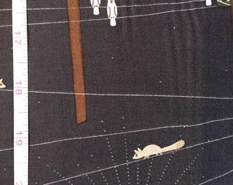 Sketchbook by Leutenegger for Andover Fabrics in Navy