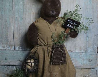 Sadie - Handmade Bunny - Primitive/Farmhouse/Country/Spring Decor