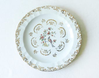 French vintage Limoges plate-France-french porcelain plates-Limoges plates-French table style-Luxury plates-French Antique Plates-French