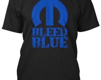 Bleed Blue Shirt