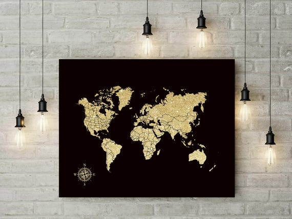 Push pin world map foam board world map travel map gift like this item gumiabroncs Image collections