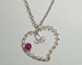 Heart Pendant and Chain