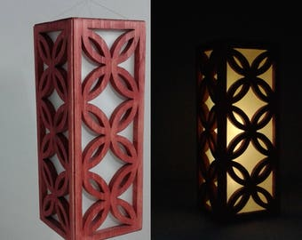 Solar LED Hanging Geometric Lantern - Geometric Night Light
