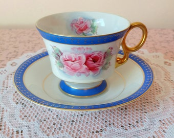 Vintage Shafford tea cup and saucer set