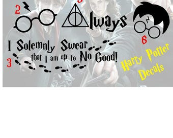 Harry Potter Vinyl Decal/Sticker