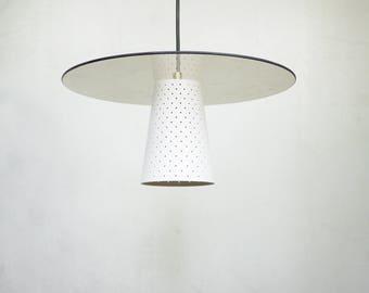 GLASS BRASS PENDANT Light // Scandinavian Design Lamp // Sophisticated Dining Smoked Glass Light