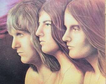 Emerson, Lake & Palmer Trilogy Original 1972 Prog Rock Vintage Vinyl Record Album LP