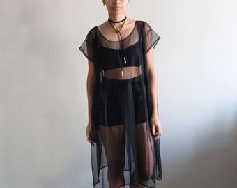 Mesh Dress, Black Dress, Little Black Dress, Mesh, Formal Dress, Casual Dress, Festival Dress, Lana Mesh Dress