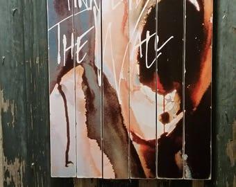 Pink Floyd Large Wood Art