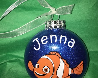 Personalized  Nemo Christmas Ornament