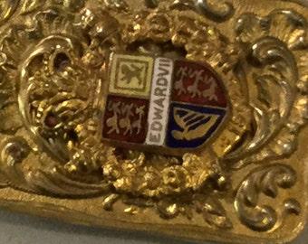 King Edward VII coronation Dance Card