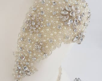 Bridal Shoulder Epaulettes Bridal Accessories Pearls
