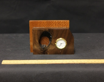 120 Brazilian Leopard Desk Clock