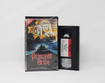 The Princess Bride - VHS - 1987 - Custom designed 1980's Horror Movie Clamshell Case & Artwork - OOAK