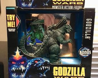 1995 Trendmasters Godzilla Wars Godzilla mint in box