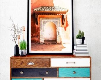 Photographie Fine Art - Architecture Marocaine - Marrakech - Maroc