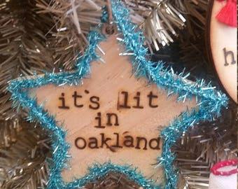 Custom It's Lit Ornament