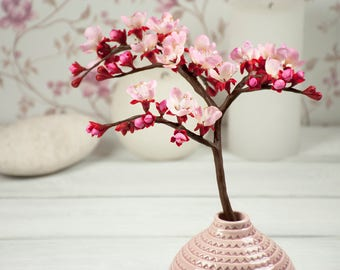 Cherry Bloom Bouquet Cherry Blossom Centerpiece Sakura Japanese Cherry  Blossom Decor Almond Blossom Spring Flower Arrangement