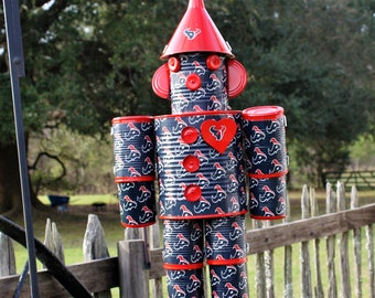 Houston Texan's Tin Man