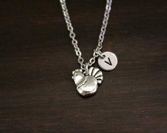 Chicken Necklace - Chicken Gift - Chicken Lover - Animal Lover - Farm Gift - Chicken Jewelry - Stocking Stuffer - Farmer Necklace - I/B/H