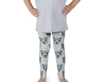 Leopard leggings, Baby girl leggings, tiger leggings, leopard print leggings, baby boy leggings, grey leggings, toddler leggings