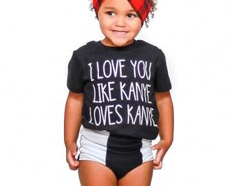 Valentine's Day Shirt - Boys Tshirt - Girls Tshirt - Baby t-shirt - Toddler Tshirt - Funny Kids Shirt - Trendy Kids Tee - Hip Hop Tshirt