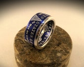 Morgan Silver Dollar Ring! Premium Series! 17 Colors! Low Profile Available!