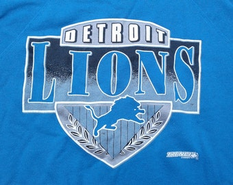 Vintage 90's Detroit Lions crewneck sweatshirt Made in USA large