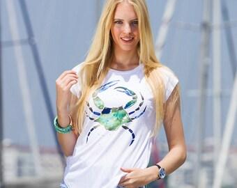 Biggdesign AnemosS Green Crab Women's T-Shirt