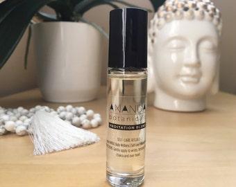 MEDITATION BLEND SPIRITUAL Aromatherapy/Yoga Blend/Meditation Aromatherapy/Yoga Aromatherapy/Calming Blend/Vegan Aromatherapy/Roller balls