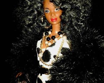 Spottie and me. OOAK barbie doll