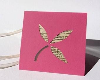 EphemeraLetter: Flower /Pink