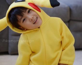 Pokemon Costume, Pikachu, child size
