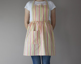 Funky Flowers Apron #2