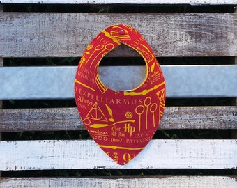 Harry Potter Gryffindor dribble and drool bib for babies and toddlers