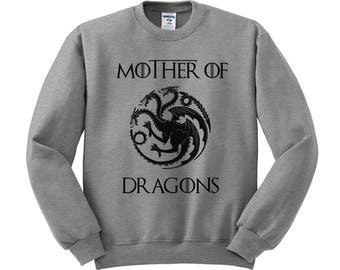 Mother Of Dragons Sweatshirt mothers day shirt, mom shirt, gifts for mom, mothers day present, thrones shirt, game shirt, geeky gift