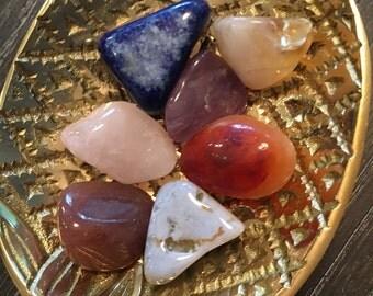 Crystal Prayer Stone Set