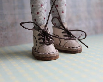 Real leather shoes for Blythe, Licca, Icy and Azone pureneemo dolls