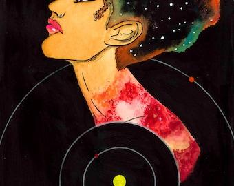 Pluto, Space, Women, Astronomy