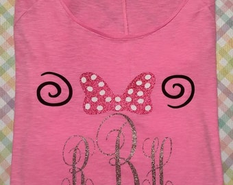 Glitter Minnie Mouse