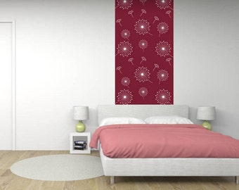Wall mural - Collection Nature 1 DANDELION - the decor