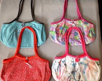 Granny fabric handbags