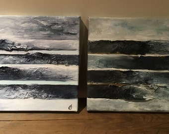 abstract paintings - to be commissioned