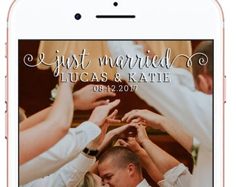 Wedding Snapchat Geofilter #5